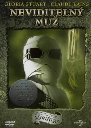 Neviditelný muž - v originálním znění s CZ titulky - DVD /plast/
