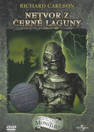 Netvor z černé laguny - v originálním znění s CZ titulky - DVD /plast/
