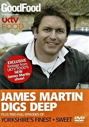 James Martin Digs Deep - v originálním znění bez CZ titulků - DVD /plast/