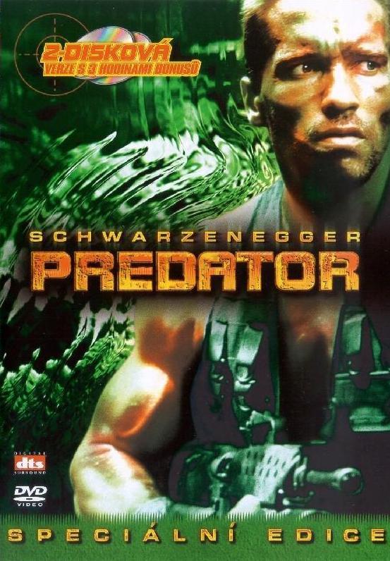Predator - Speciální edice - v originálním znění s CZ titulky - DVD /plast/