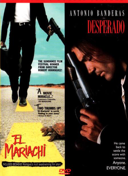 Desperado / El Mariachi - v originálním znění s CZ titulky - DVD /plast/