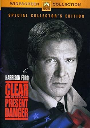 Clear and Present Danger / Jasné nebezpečí - Special Collector's Edition - v originálním znění s CZ titulky - DVD /plast/