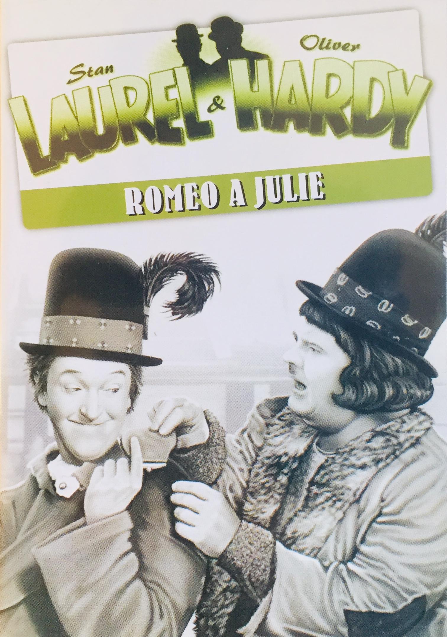 Stan Laurel & Oliver Hardy - Romeo a Julie - DVD /plast/