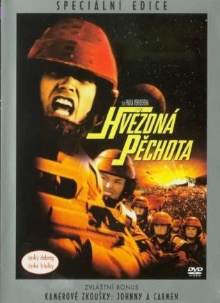 Hvězdná pěchota - Speciální edice - DVD /plast/