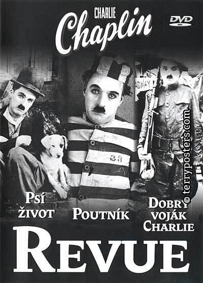 Charlie Chaplin - Revue - v originálním znění s CZ titulky - DVD /plast/