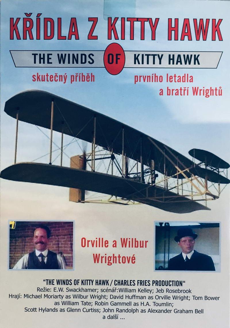 Křídla z Kitty Hawk - DVD /pošetka/