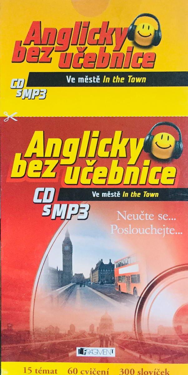 Anglicky bez učebnice - Ve městě - výukové CD s MP3 /pošetka/