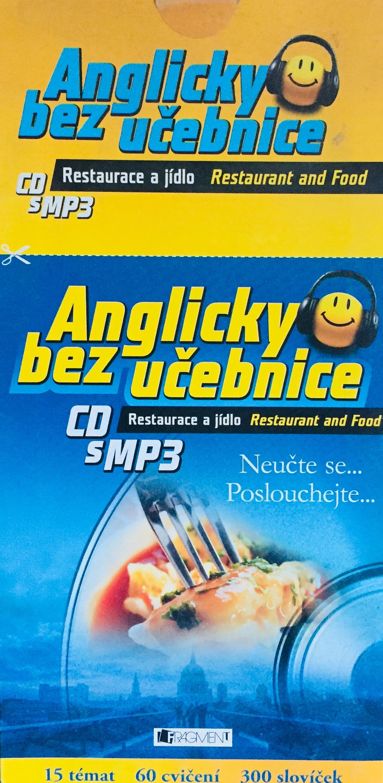 Anglicky bez učebnice - Resaturace a jídlo - výukové CD s MP3 /pošetka/