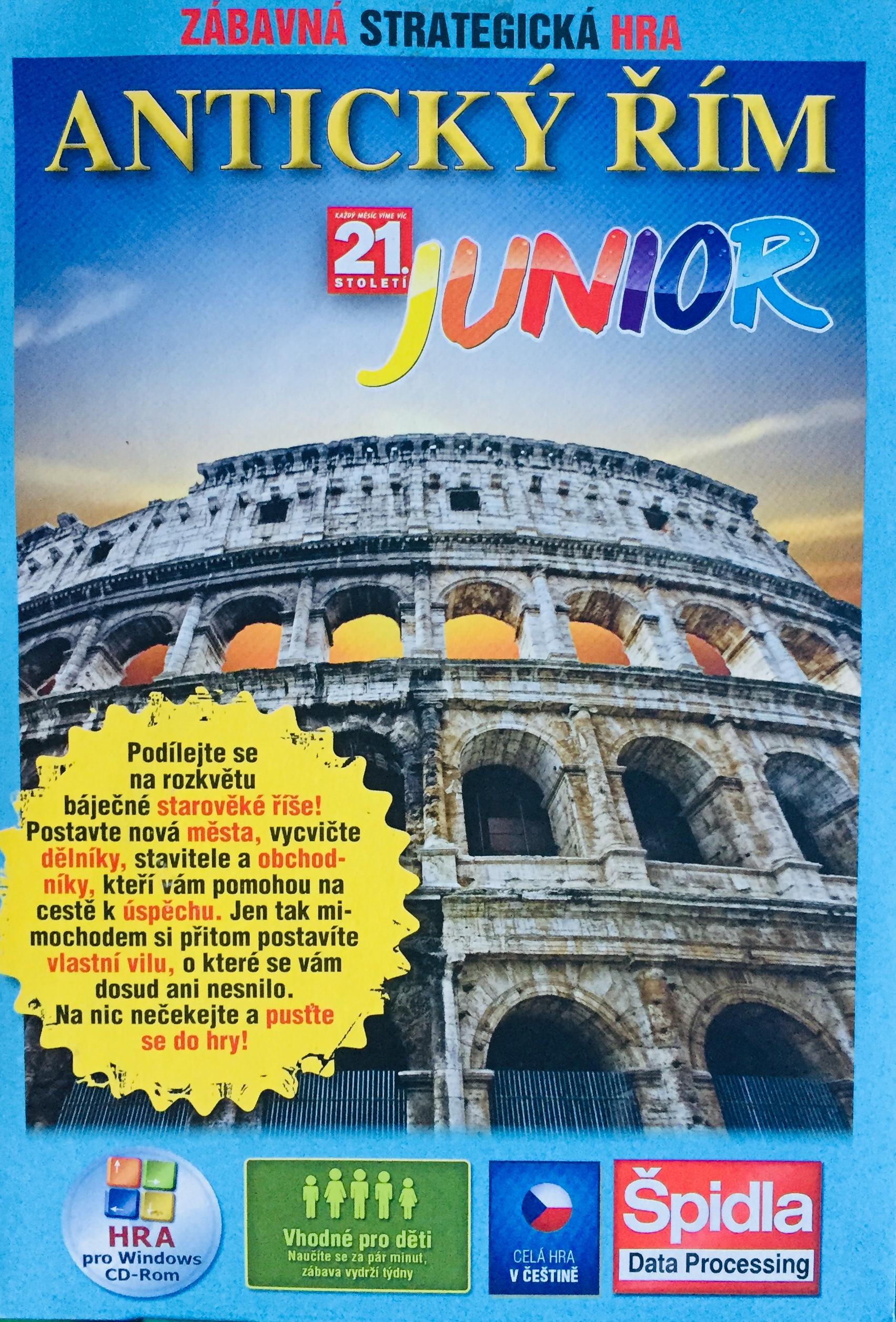 Antický Řím Junior - PC hra /pošetka/bazarové zboží/