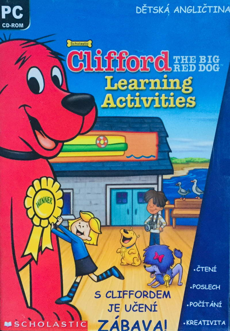 Clifford - Learning Activities - PC hra /plast/