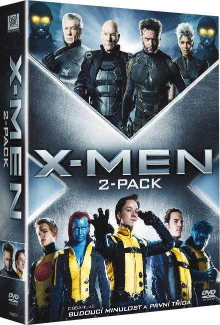 X-Men:První třída/X-Men:Budoucí minulost - 2 DVD