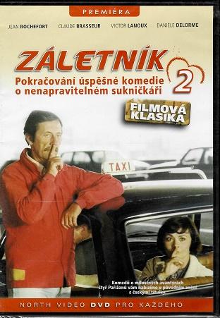 Záletník 2 ( Původní znění, CZ titulky ) slim DVD
