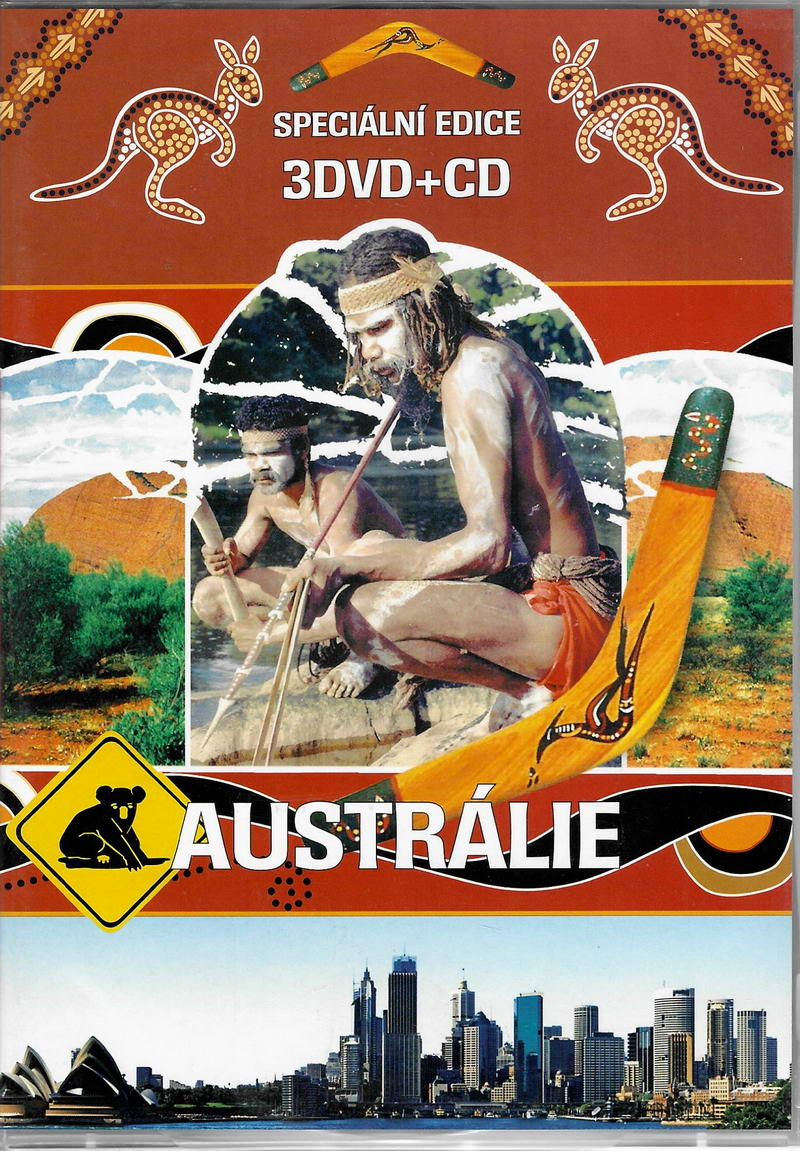 Austrálie - 3DVD+CD - plast