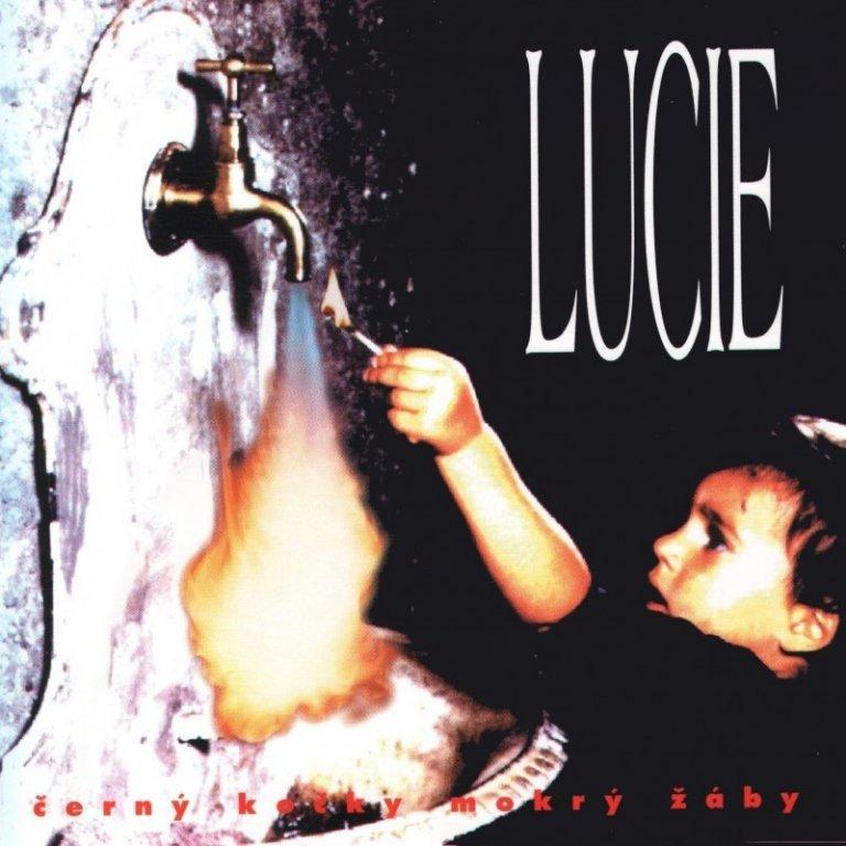 Lucie - Černý kočky mokrý žáby - CD /plast/