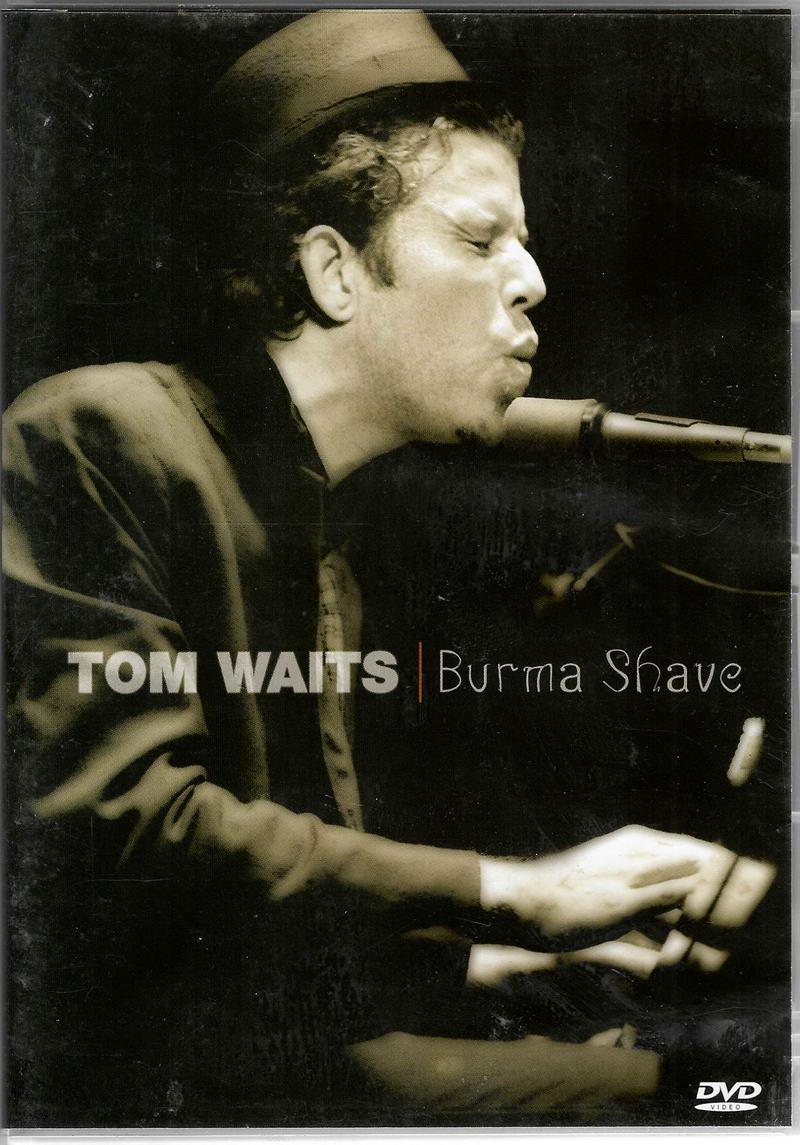 Tom Waits - Burma Shave - DVD plast