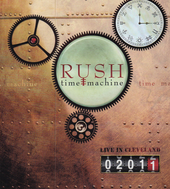Rush - Time Machine - CD /karton obal malý/