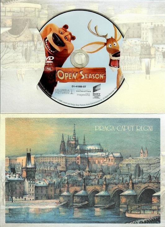 Lovecká sezóna ( dárkový papír obal ) - DVD