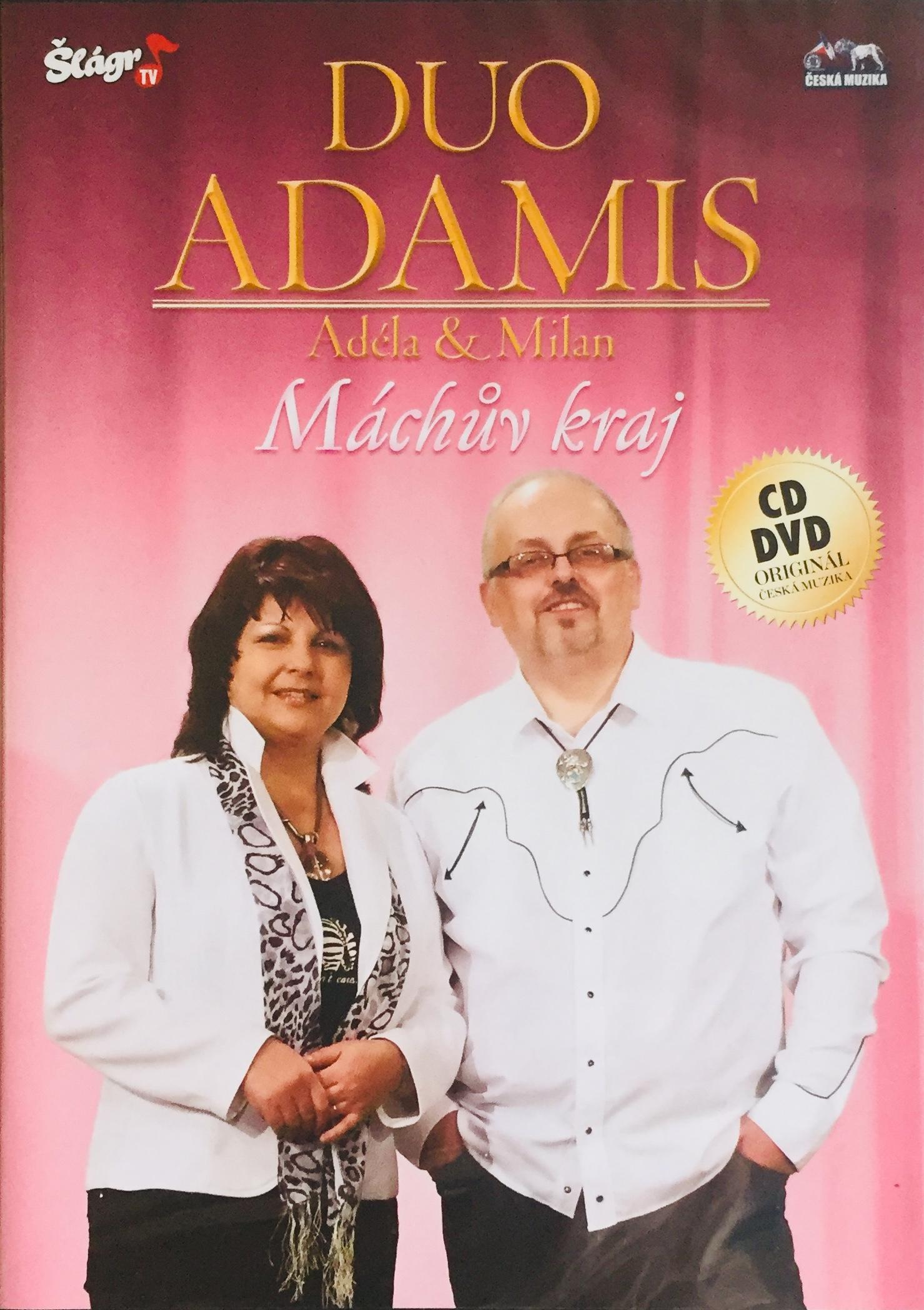 Duo Adamis Adéla & Milan - Máchův kraj - CD+DVD /plast/