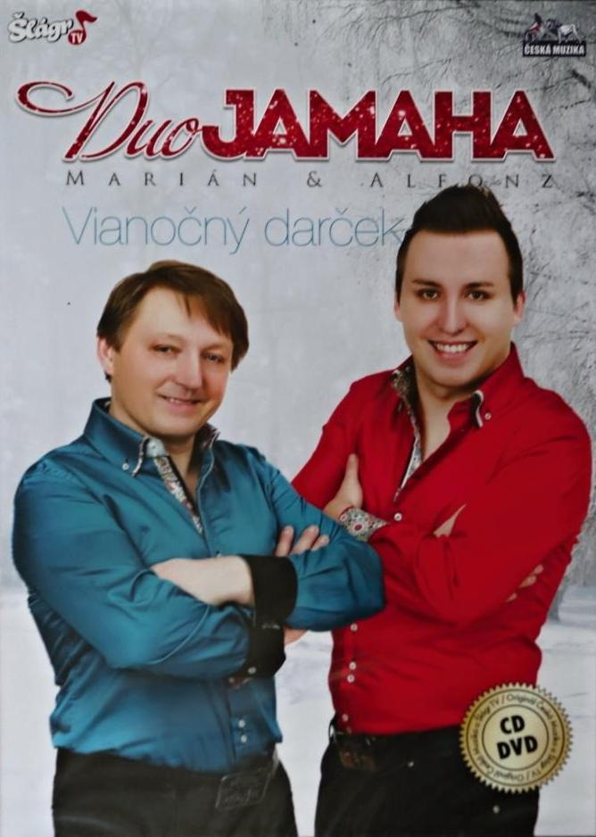 Duo Jamaha - Vianočný darček - CD+DVD /plast/
