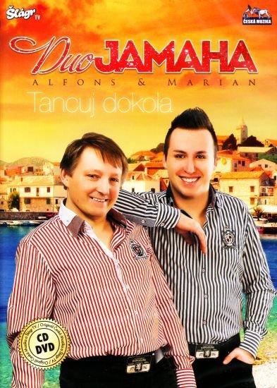 Duo Jamaha - Tancuj dokola - CD+DVD /plast/