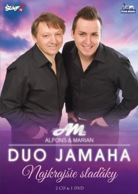 Duo Jamaha - Najkrajšie slaďáky - 2xCD+DVD /plast/
