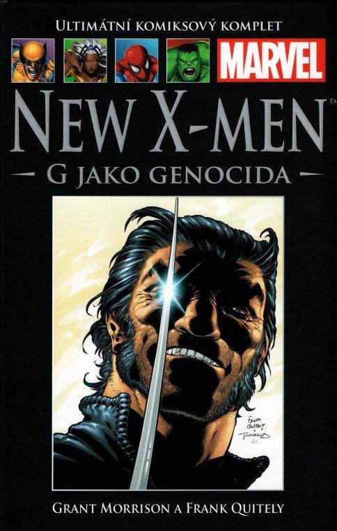 Ultimátní komiksový komplet 18 - New X-Men - G jako Genocida - Grant Morrison /bazarové zboží/