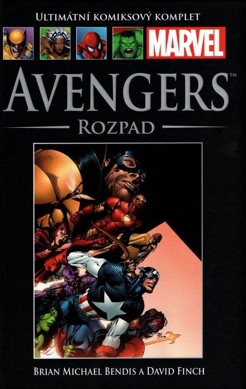 Ultimátní komiksový komplet 34 - Avengers - Rozpad - Brian Michael Bendis /bazarové zboží/