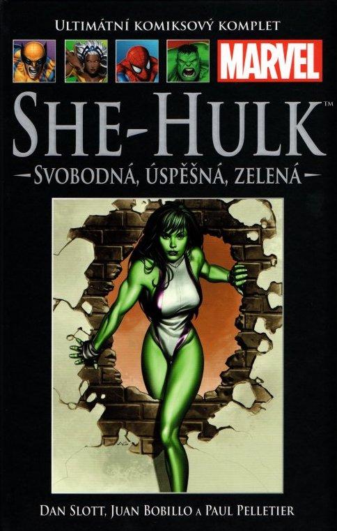 Ultimátní komiksový komplet 30 - She-Hulk - Svobodná, úspěšná, zelená - Dan Slott /bazarové zboží/