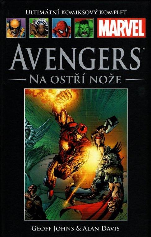 Ultimátní komiksový komplet 28 - Avengers - Na ostří nože - Geoff Johns /bazarové zboží/