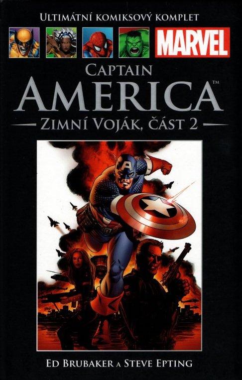 Ultimátní komiksový komplet 51 - Capatin America - Zimní Voják, část 2 - Ed Brubaker /bazarové zboží/