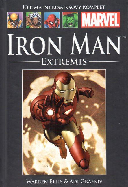 Ultimátní komiksový komplet 43 - Iron Man - Extremis - Warren Ellis /bazarové zboží/