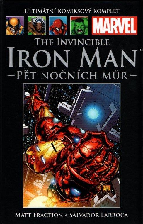 Ultimátní komiksový komplet 58 - The Invincible - Iron Man - Pět nočních můr - Matt Fraction /bazarové zboží/