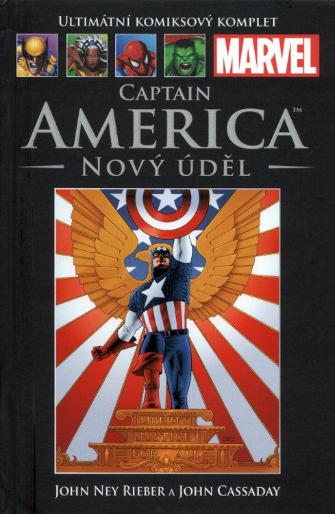 Ultimátní komiksový komplet 14 - Captain America - Nový úděl - John Ney Rieber /bazarové zboží/