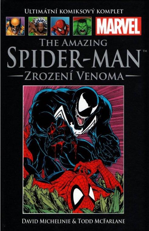 Ultimátní komiksový komplet 9 - The Amazing Spider-Man - Zrození Venoma - David Michelinie /bazarové zboží/