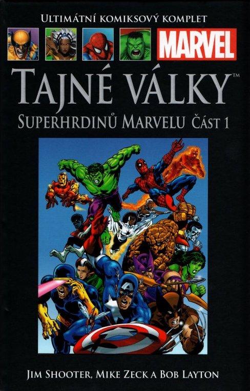 Ultimátní komiksový komplet 5 - Tajné války superhrdinů Marvelu Část 1 - Jim Shooter /bazarové zboží/