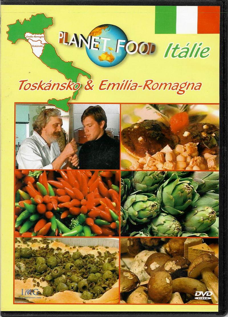 Planet food - Itálie , Toskánsko & Emilia - Romagna - DVD slim