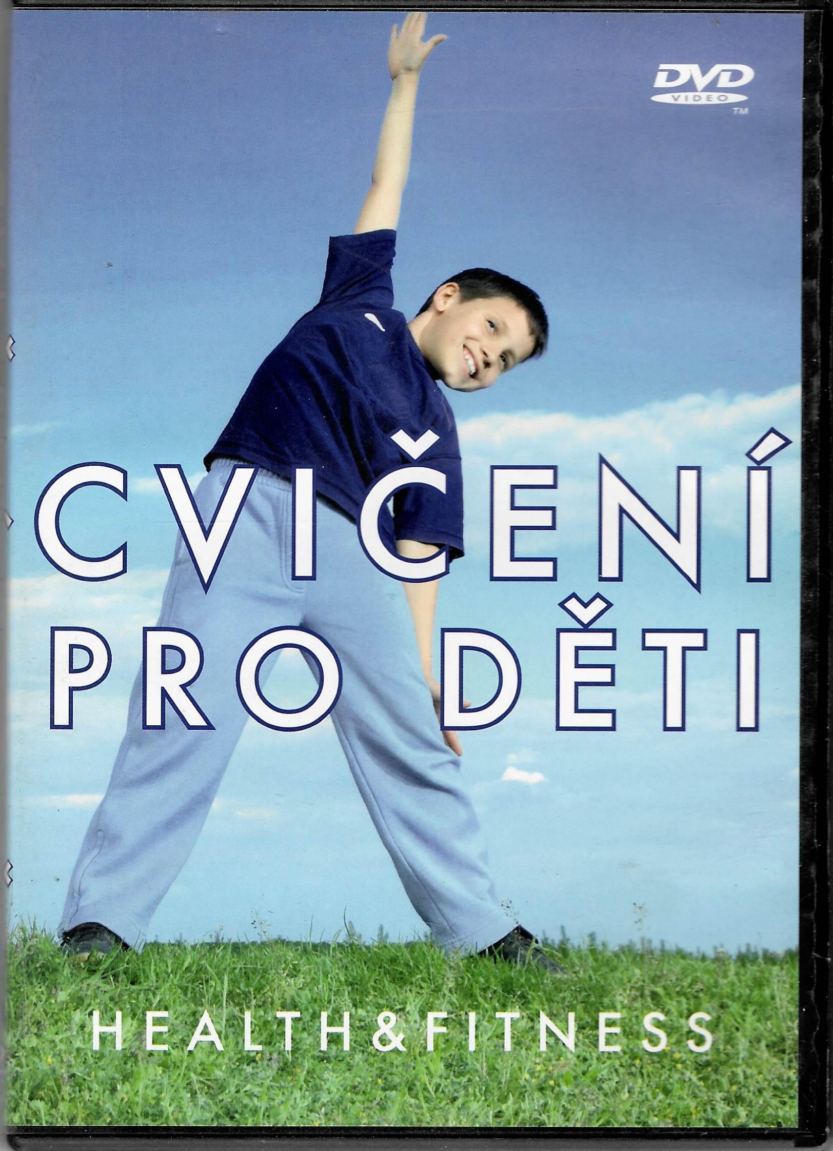 Cvičení pro děti - DVD plast