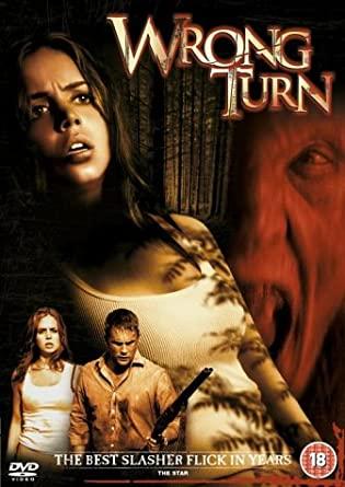 Wrong Turn / Pach krve - v originálním znění bez CZ titulků - DVD /plast/