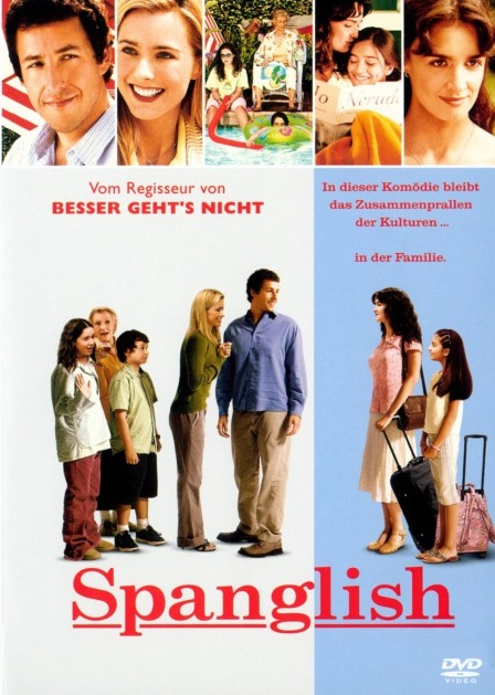 Spanglish / Španglicky snadno a rychle - v originálním znění bez CZ titulků - DVD /plast/