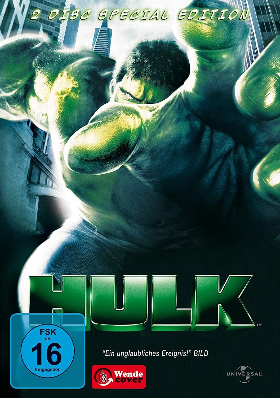 Hulk - 2 Disc Special Edition - v originálním znění bez CZ titulků - DVD /plast/