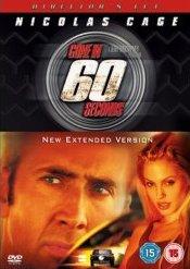 Gone in 60 Seconds / 60 sekund - v originálním znění bez CZ titulků - DVD /plast/