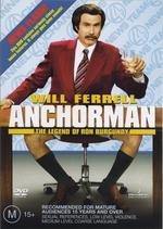 Anchorman / Zprávař - Příběh Rona Burgundyho - v originálním znění bez CZ titulků - DVD /plast/