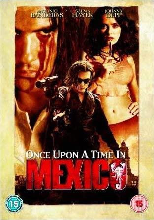 Once Upon a Time in Mexico / Tenkrát v Mexiku - v originálním znění bez CZ titulků - DVD /plast/