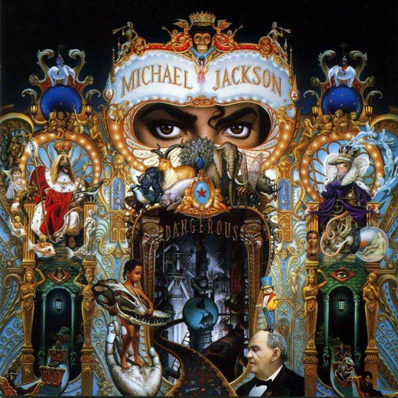 Michel Jackson - Dangerous - CD /plast/