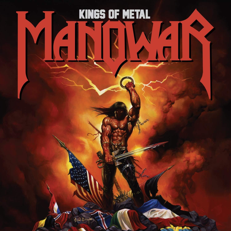 Manowar - Kings of Metal - CD /plast/