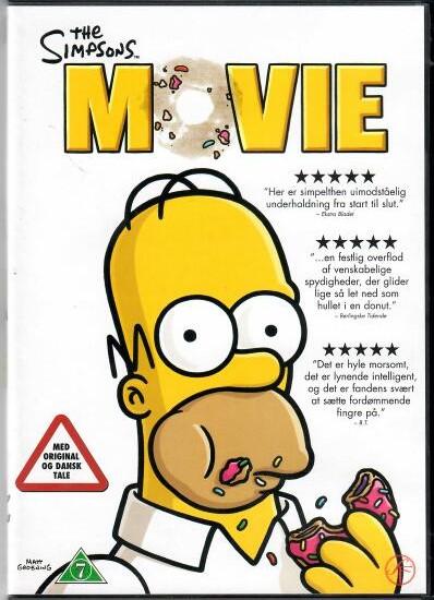 Simpsonovi ve filmu ( plast ) - DVD