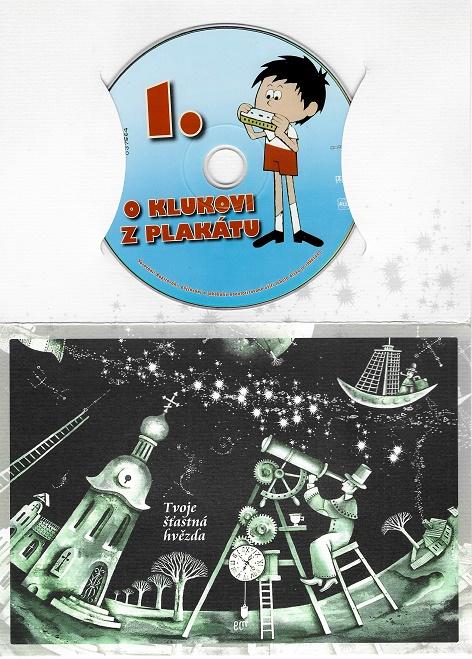 60 večerníčků - 51 - O klukovi z plakátu 1 ( dárkový papír obal ) DVD