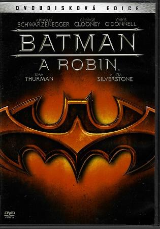 Batman a Robin S.E. 2DVD -plast DVD
