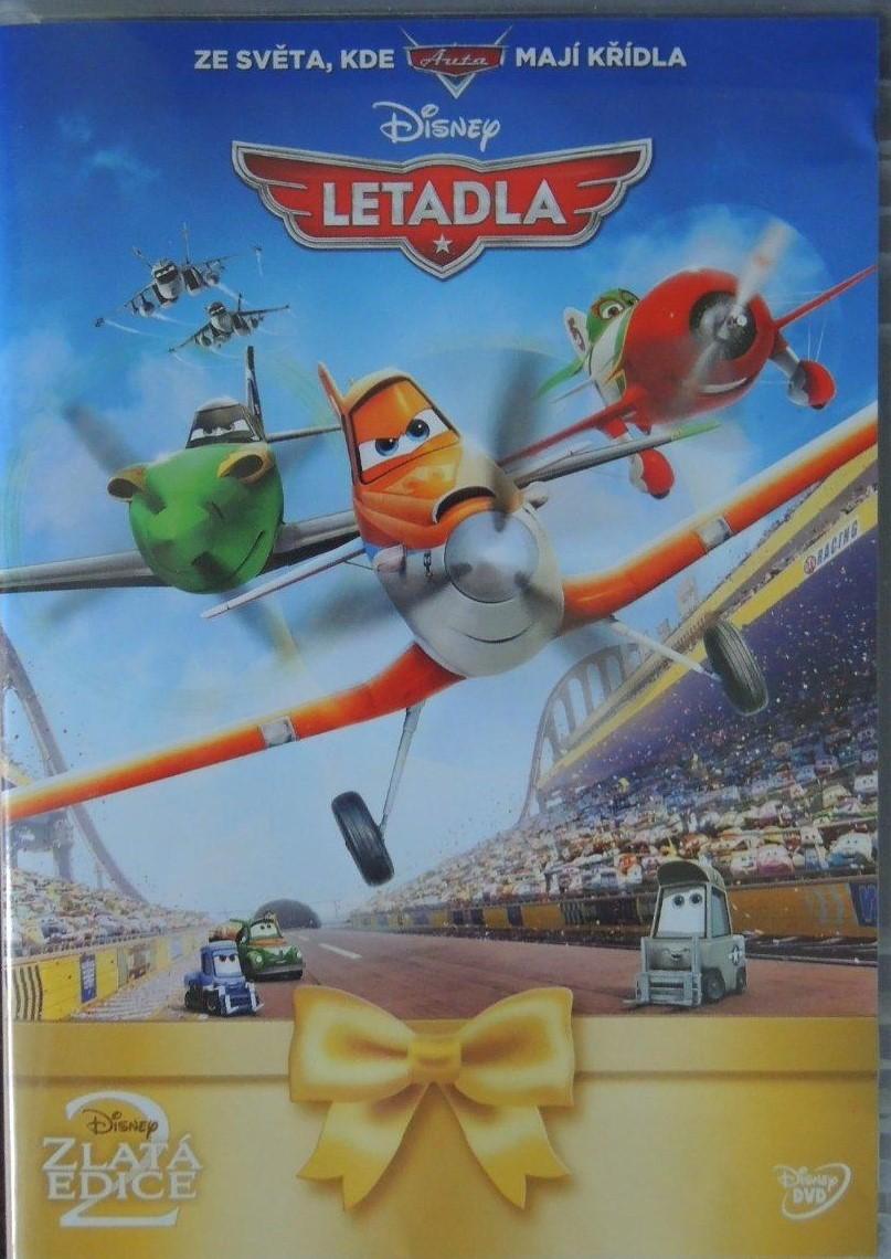 Letadla - DVD plast ( zlatá edice )