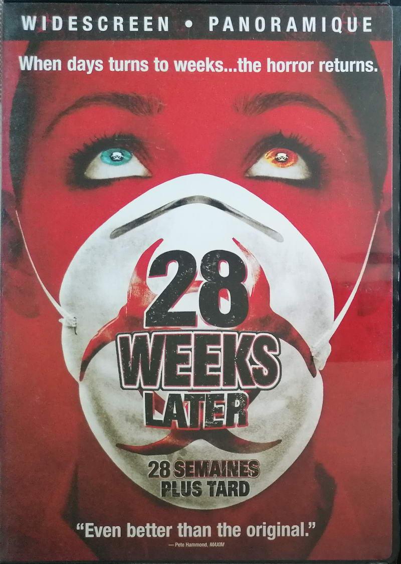 28 weeks later - DVD plast ( bez CZ titulků)